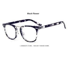 Модные круглые очки с занавес, женские ретро очки с полной оправой, классические очки для чтения, прозрачные линзы, мужские винтажные ультра...(Китай)