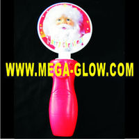 Spinning Christmas Lights Wand Festival Flashing Led Light Toy ...