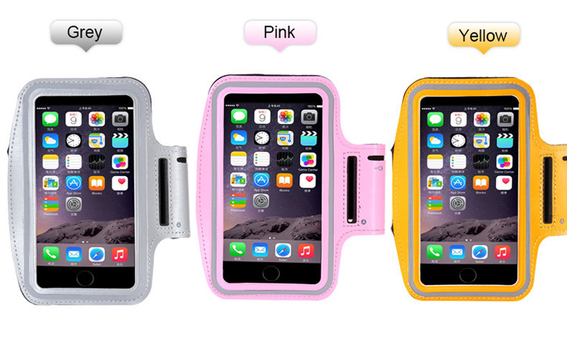 Adjustable Running Sport Gym Armband Bag Phone Case For Apple ...