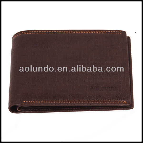 Best Handcrafted Men Wallet Brown Leather Credit Card Purse