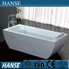 HS-B555 rectangular one person vintage freestanding double ended bathtub india