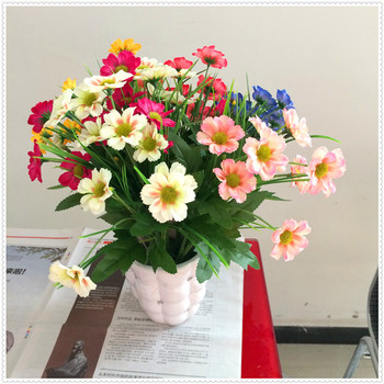 Plastic Flowers Decorative Nylon