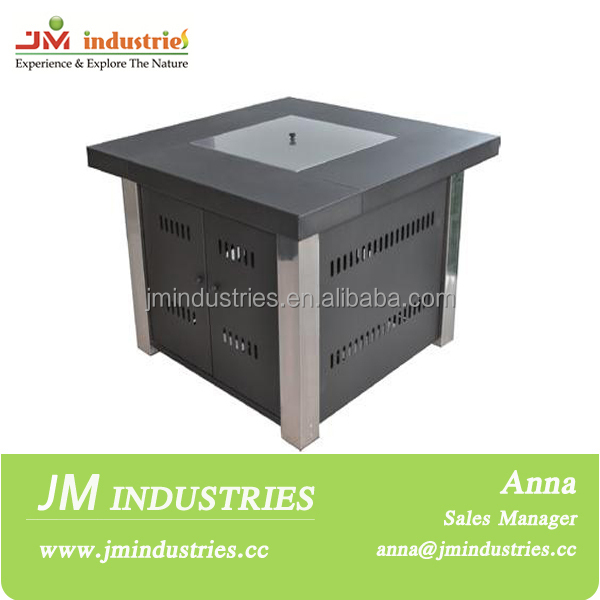 Outdoor gas brazier