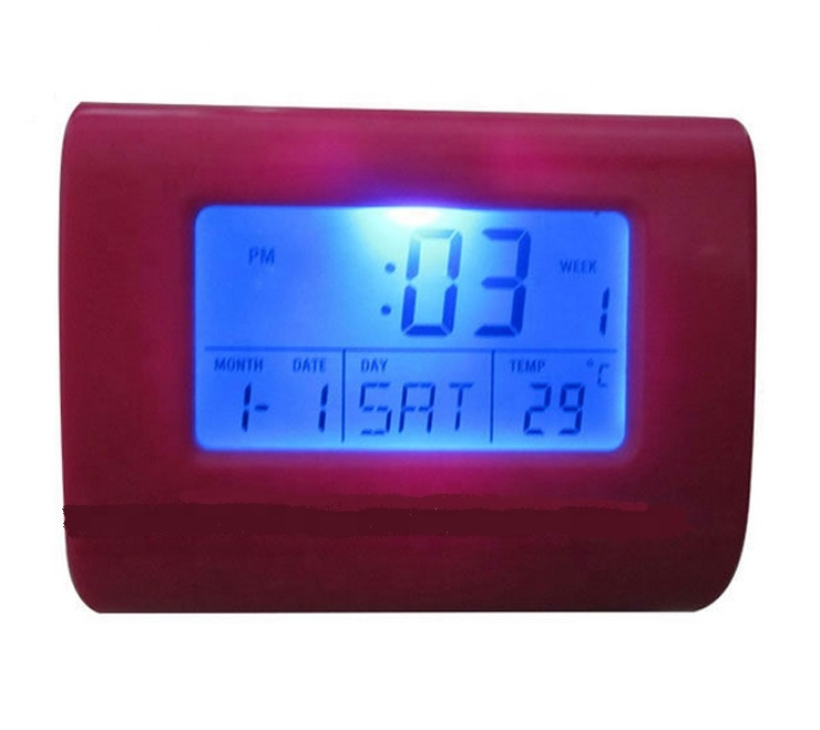 Multifunzione Touch-Screen Table Alarm Clock Display Temperatura Retroilluminazione