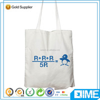 China Wholesale Blank Plain White Cotton Canvas Online Shopping Tote Bag