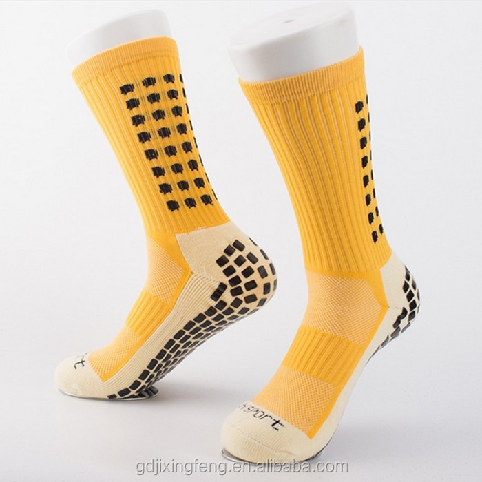 Wholesale different colors sports non slip socks with terry bottom OEM and ODM service