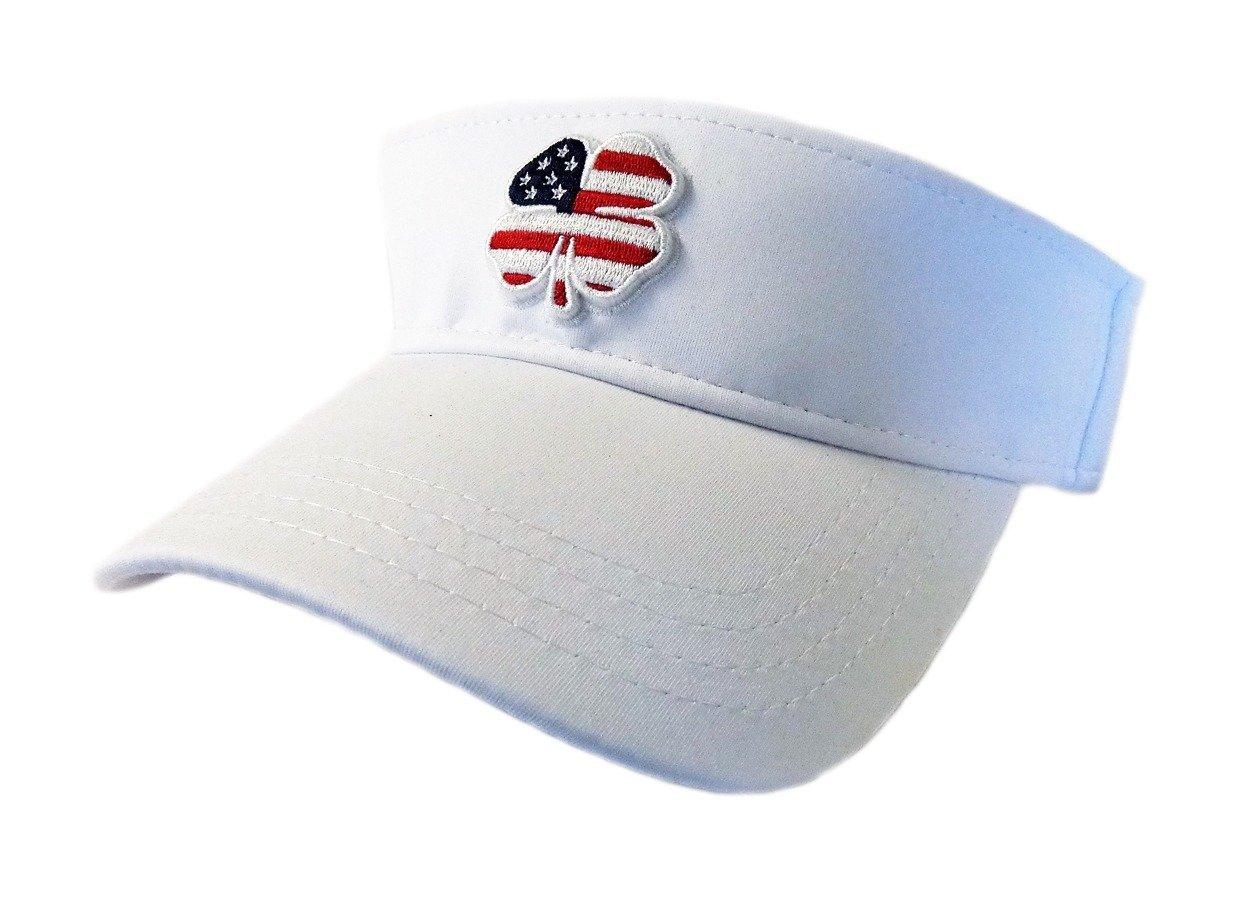 a66a91e7f Buy NEW Black Clover Live Lucky USA Visor #2 USA Flag/White ...