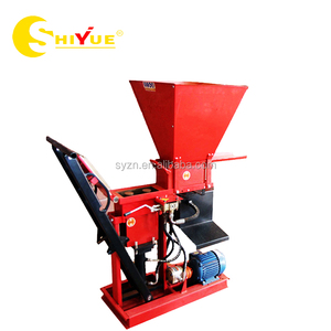 small scale industries machines Eco Brava clay interlocking paver making machine for sale