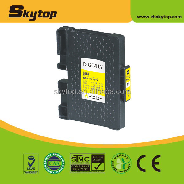 compatible for ricoh ink cartridge gc41
