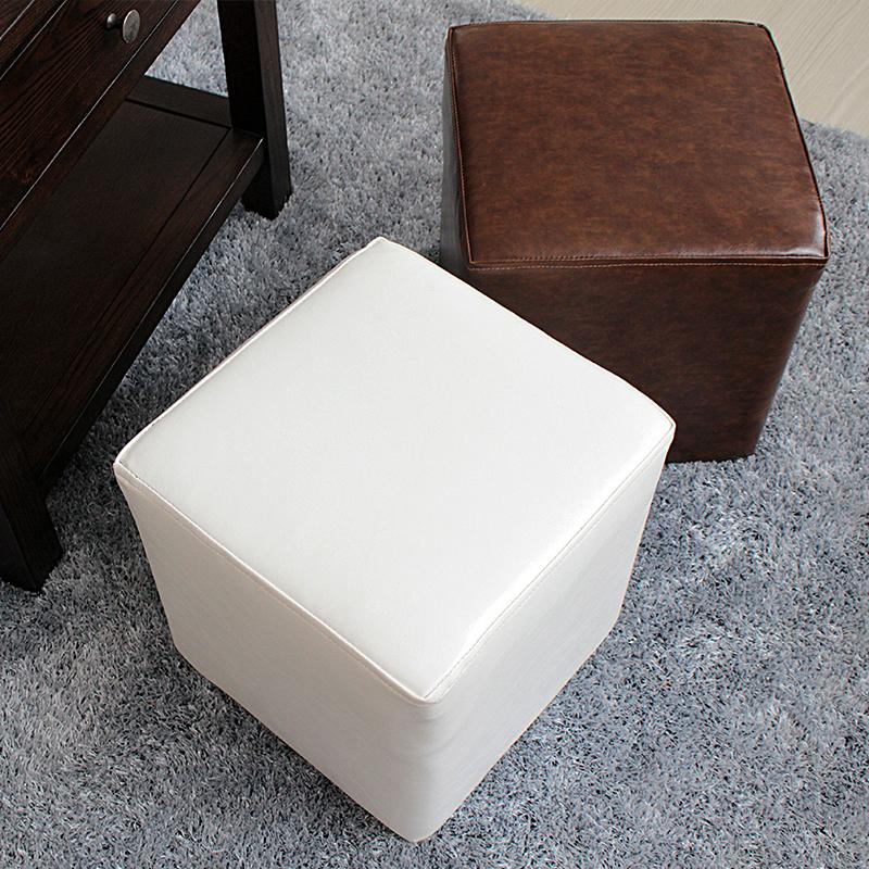 Muebles De Madera Taburete Otomano Cómodo Otomana De Cuero - Buy ...