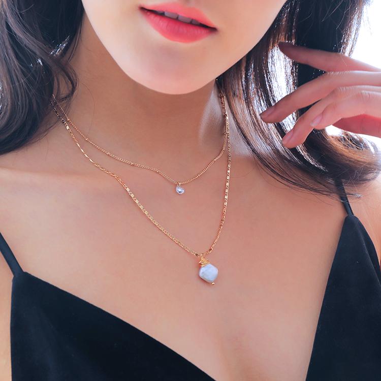 Collar Gargantilla De Cadena De Perlas Barrocas Envueltas En Alambre De Capas De Oro Buy Collar De Gargantilla Corta Collar De 2 Capas Collar Simple De Capa De Cristal Product On Alibaba Com