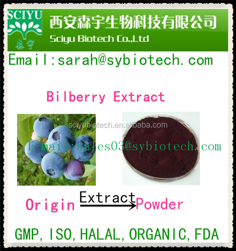 factory price Bilberry Extract Powder