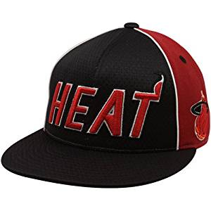 b6c1f404928 Buy NBA Mitchell Ness Miami Heat TU61 Wool Mesh Flat Bill Fitted Hat ...