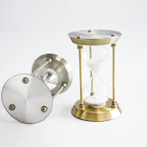 Metal 30 minutes sand timer hourglass for meeting