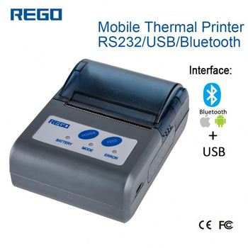 small scale label invoice serial number printing machine rg mtp58b