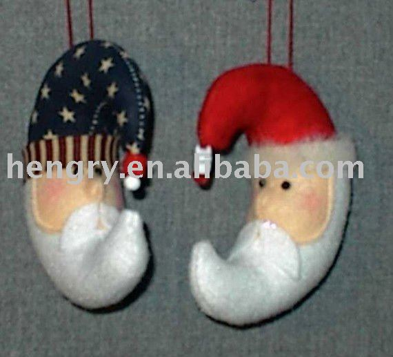 Newest Style HRW-005 Handmade Felt Craft Christmas Decoration