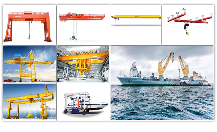 Henan Weihua Indoor/Outdoor Customized Simple Single Girder Gantry Crane