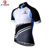 X-TIGER 2019 Pro Cycling Jersey MTB Bicycle Clothing Wear For Mans