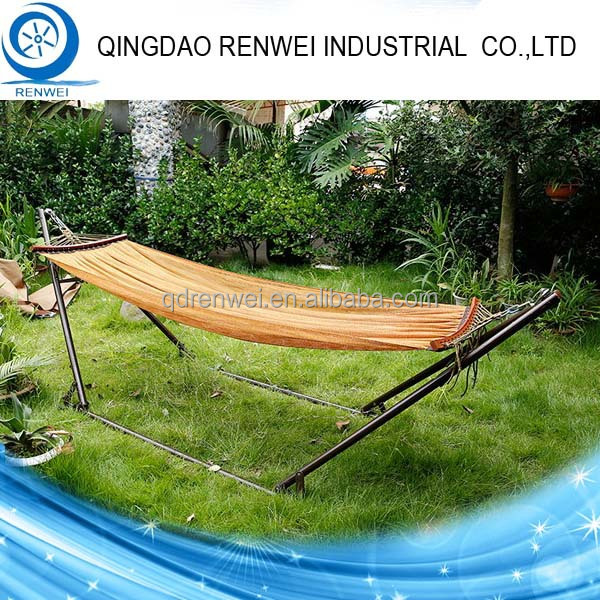 Heavy Duty Steel Outdoor Portable Canvas Folding Hammock Stand /Camping  Hammock Stand