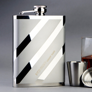 Hip flask glass /Stainless Steel Whiskey Hip Flask,hip flask gold