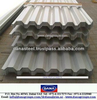 Kenya Gi Aluminium Corrugated Roofing Sheets Single Skin