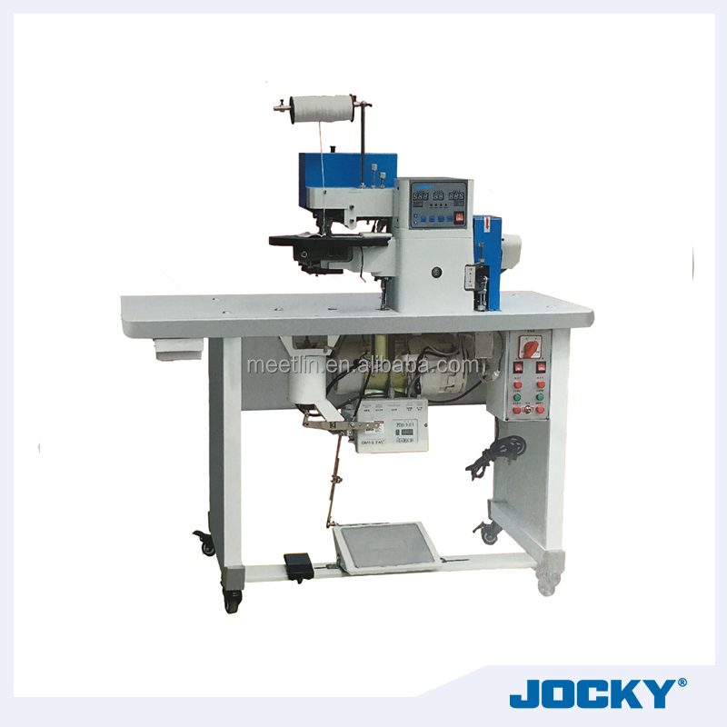 JK-298 Fully automatic hot-cement leather edge folding machine