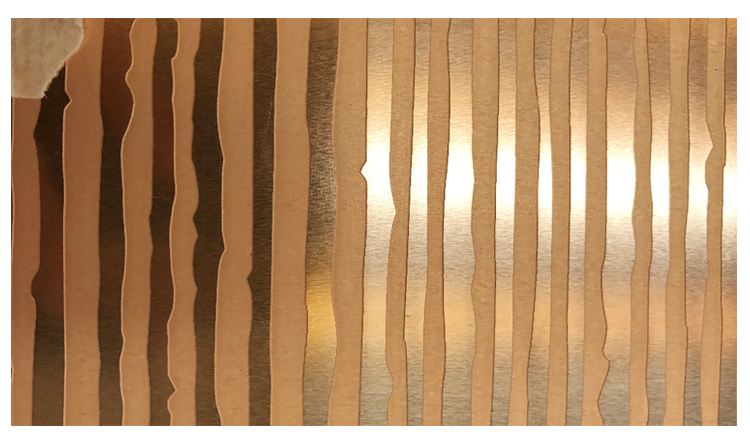 1mm 2 mm 3mm pattern H62 chemical deep etching brass sheet for decoration and architecture