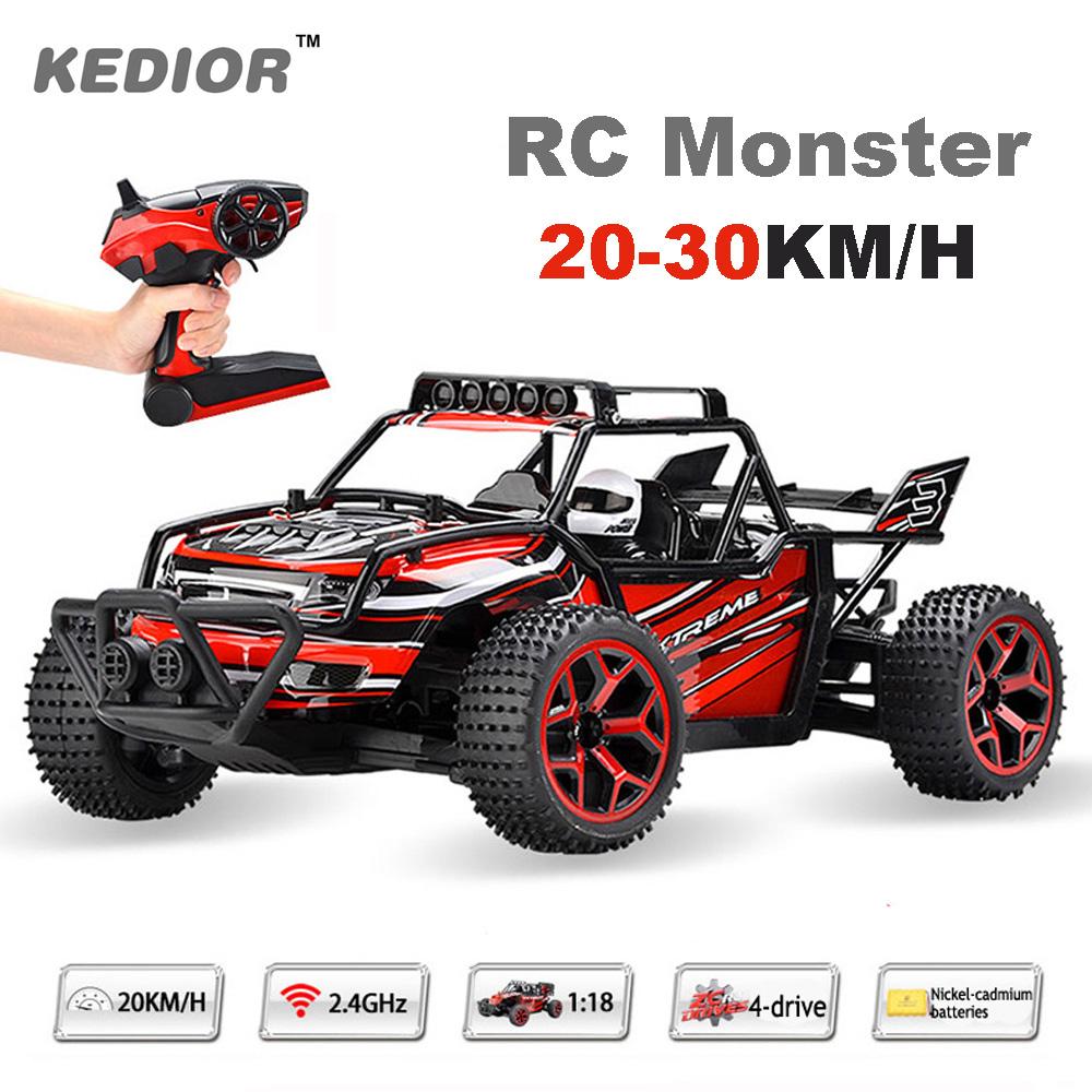 Kedior 1:18 RC Car 4WD Drift Remote Control Cars Machine