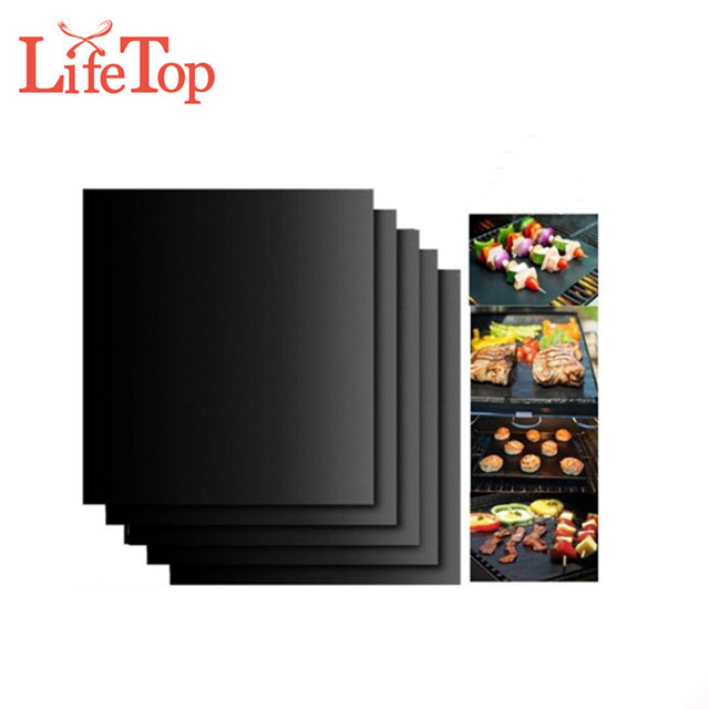 Hot Sell Non stick Fire Retardant Reusable BBQ Grill Mat