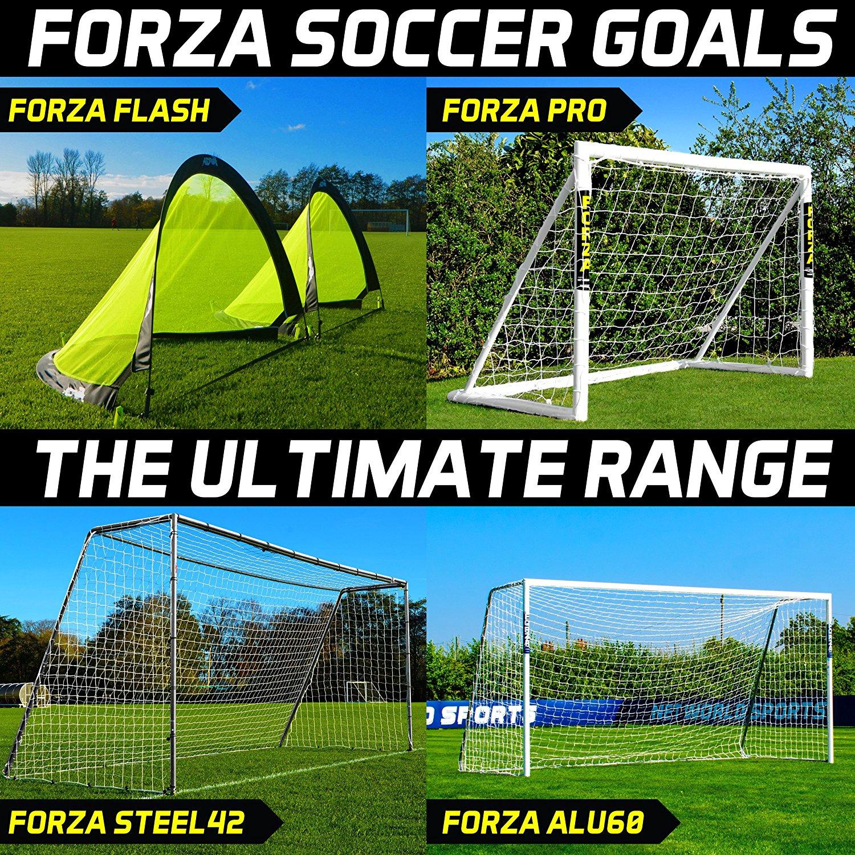 FORZA Soccer Goals (COMPLETE RANGE, ALL SIZES) – Pop-Up Target Goals, Backyard Goals, Steel Goals, Aluminum Goals [Net World Sports]