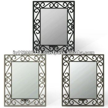 Wire Frame Stand Mirror - Buy Mirror,Standing Mirrors,Make Up Mirror ...
