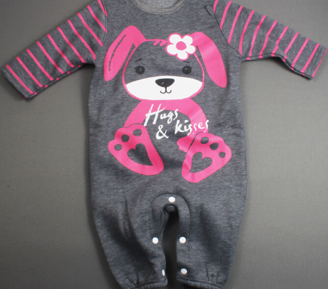 S10788A Best Selling comfortable baby romper baby clothes printed ramper