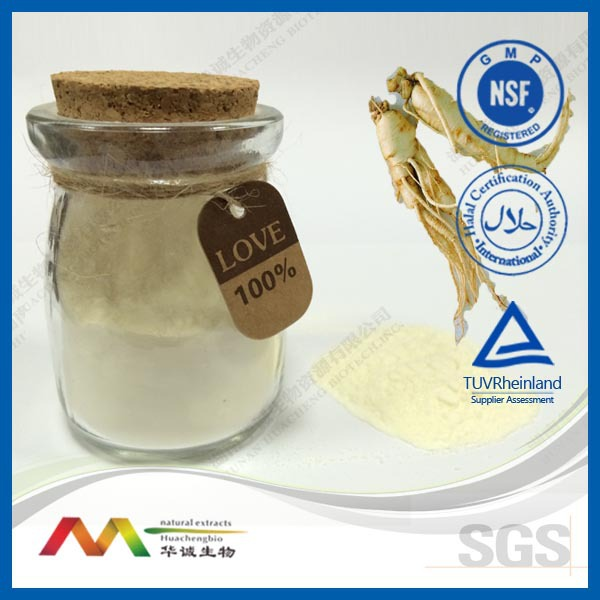 2014 new product provide High quality panax Ginseng root Extract by chinese manufacturer