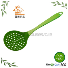 HIMI Silicone Leak Gravy Ladle Frying Spoon Heat Resistant Silicone Spoon For Kitchen Tool