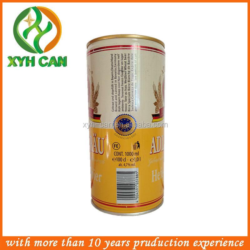 1000ml Tinplate Easy Open Foam Beer Can Cooler/beer Can Opener ...