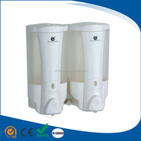 Multifunctional double wall mounted automatic liquid soap dispenser with foam pump