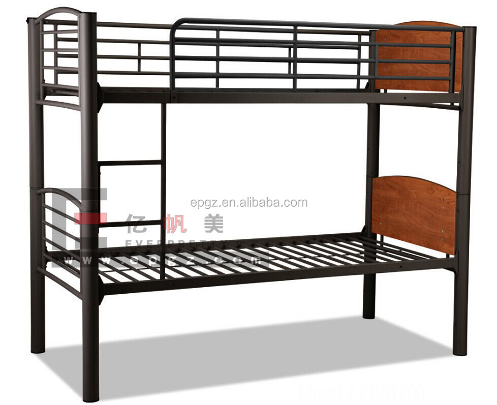 heavy duty metal bunk bed for army or camp or dormitory view bunk bed everpretty product. Black Bedroom Furniture Sets. Home Design Ideas