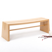 Long Bench exotic natural bamboo home furniture