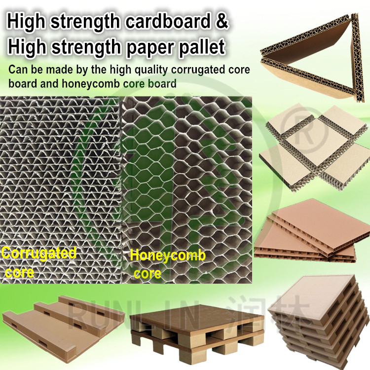 100% recycle paper cardboard honeycomb board from 10mm-80mm