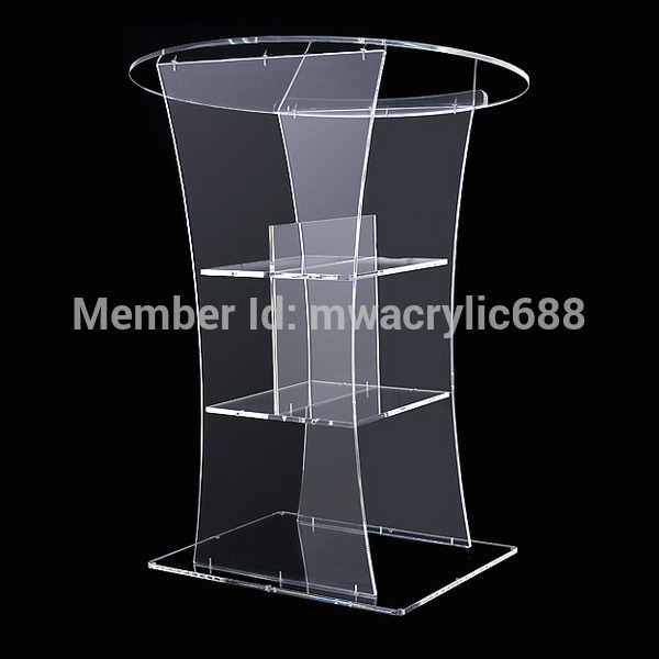 Cheap Furniture Free Delivery: Pulpit-furniture-Free-Shipping-Transparent-Modern-Design