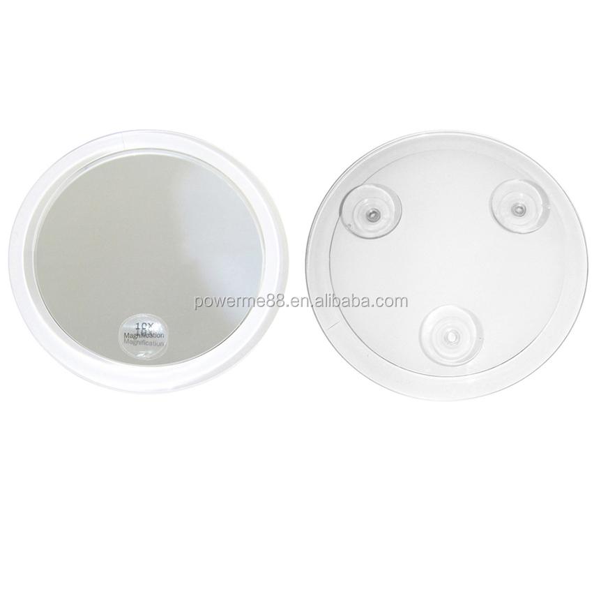 Haut Pflege Werkzeuge GüNstiger Verkauf Einstellbare 18 Led Licht Make-up Spiegel Mit 10x Vergrößerung Sucker Spiegel Tragbare Vergrößerungs Eitelkeit Spiegel Kosmetik Spiegel Schönheit & Gesundheit