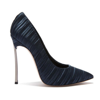 30aadc27e2d5 2019 Luxury Collection Velvet Pointed Toes Girls High Heel Pumps Shoes