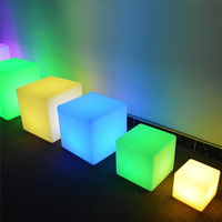 Illuminated LED Furniture/LED cube seat