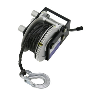 mini wire rope hand portable winch manual of 1000kgs for parts of a trailer