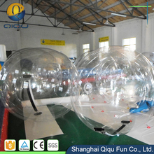 Outdoor toys big high quality colorful water game rental inflatable water walking rolling human hamster ball price for sale