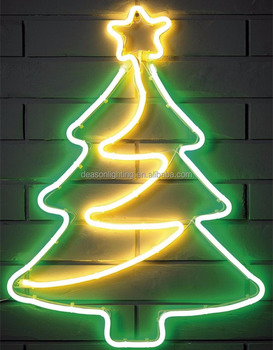 Spiral neon light christmas tree buy led spiral christmas tree spiral neon light christmas tree mozeypictures Image collections