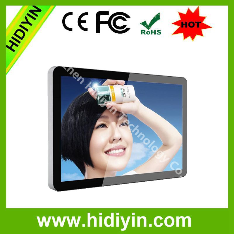 32 43 49 55 65 lcd wall mounted digital advertising player/indoor advertising large signage monitor screen for advertising