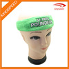 Sports absorb customized logo design terry cotton headband