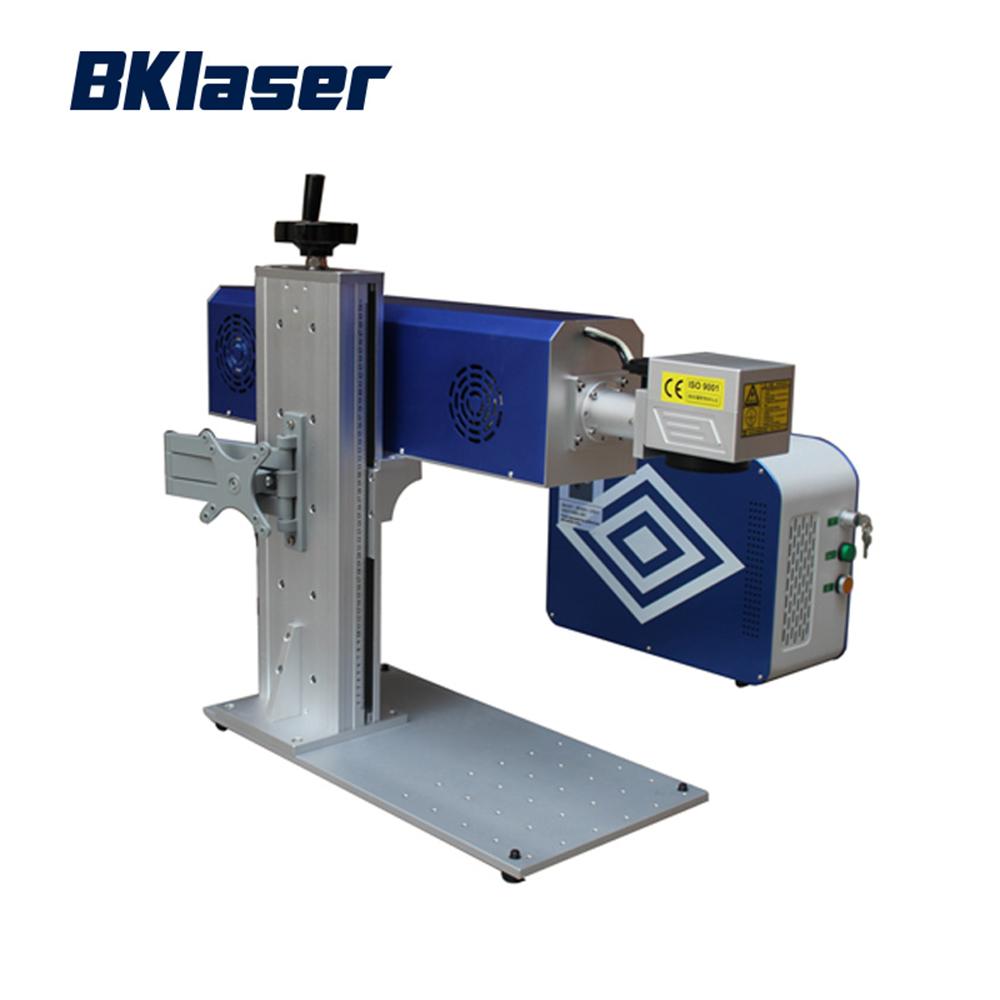 30 w co2 máquina de marcação a laser de madeira para impressão garrafa pet
