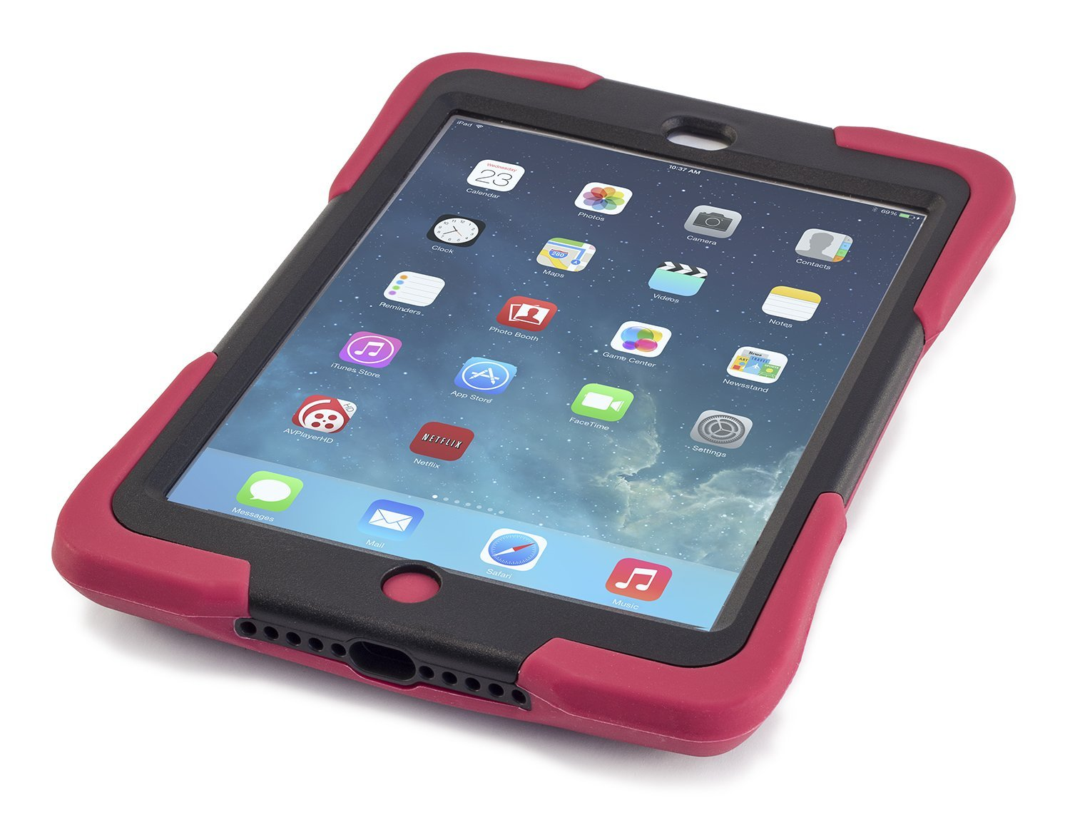 Get Quotations Caseiopeia Keepsafe Strap Rugged Heavy Duty Ipad Mini Retina Case Designed For Home And School